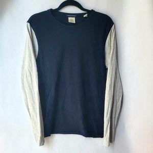 📦Scotch & Soda Blue/Grey Shirt Sz L NWOT